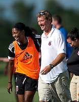 Mike Jorden, Tiffany Brown.  The D.C. United Women defeated the Charlotte Lady Eagles, 3-0, to win the W-League Eastern Conference Championship.