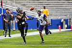 Southern Miss Golden Eagles wide receiver DJ Thompson (5) in action during the Zaxby's Heart of Dallas Bowl game between the Washington Huskies and the Southern Miss Golden Eagles at the Cotton Bowl Stadium in Dallas, Texas. Washington defeats Southern Miss 44 to 31.