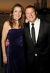 """Hosts Paige and Tilman Fertitta at the San Luis Salute """"Space Pirates"""" VIP reception Friday February 24,2017. (Dave Rossman Photo)"""
