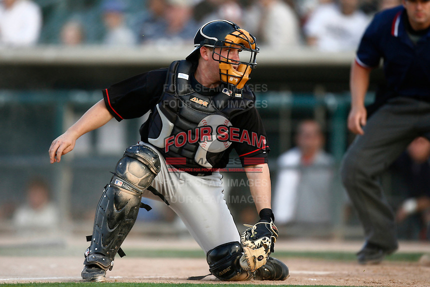 May 19  2007: Brandon Gottier of the Lake Elsinore Storm during game against the Lancaster JetHawks at Clear Channel Stadium in Lancaster,CA.  Photo by Larry Goren/Four Seam Images