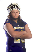 NWA Democrat-Gazette/ANDY SHUPE<br /> Booneville defender Noah Reyes is the Northwest Arkansas Democrat-Gazette Division II Football Defensive Player of the Year. Wednesday, Dec. 12, 2018.