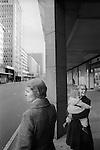 Three generations Victoria street, London 1970s. UK..