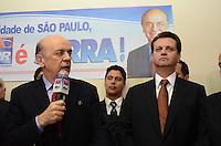SAO PAULO, 04 DE JUNHO DE 2012 - SERRA PR - O candidato a prefeitura de Sao Paulo, Jose Serra, em reuniao de apoio politico na sede do Partido da Republica. na Avenida Republica do Libano, regiao sul da capital, na tarde desta segunda feira. FOTO: ALEXANDRE MOREIRA - PHOTO PRESS