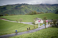 Matteo Badilatti (SUI/Groupama - FDJ) up the Colle Passerino (3km from the finish)<br /> <br /> 104th Giro d'Italia 2021 (2.UWT)<br /> Stage 4 from Piacenza to Sestola (187km)<br /> <br /> ©kramon