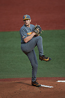Tennessee Volunteers pitcher Will Heflin (11) in action against the Charlotte 49ers at Hayes Stadium on March 9, 2021 in Charlotte, North Carolina. The 49ers defeated the Volunteers 9-0. (Brian Westerholt/Four Seam Images)