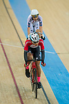 Ho Kwun Hei of the SCAA competes in Men Junior - Omnium II Tempo Race during the Hong Kong Track Cycling National Championship 2017 on 25 March 2017 at Hong Kong Velodrome, in Hong Kong, China. Photo by Marcio Rodrigo Machado / Power Sport Images
