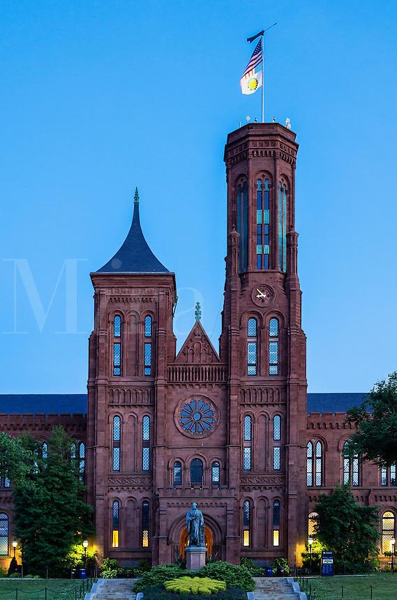 The Castle, Smithsonian Institution headquarters, Washington DC, USA