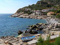 Strand von Chiessi, Elba, Region Toskana, Provinz Livorno, Italien, Europa<br /> beach of Chiessi, Elba, Region Tuscany, Province Livorno, Italy, Europe
