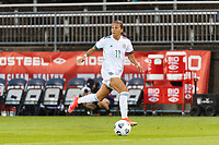 EAST HARTFORD, CT - JULY 1: Maria Sanchez #11 of Mexico during a game between Mexico and USWNT at Rentschler Field on July 1, 2021 in East Hartford, Connecticut.