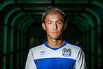 Gamba Osaka player Takashi Usami poses for a portrait at Jeonju World Cup Stadium ahead of the 2015 AFC Champions League Quarter-Final 1st Leg match between Jeonbuk Hyundai Motors and Gamba Osaka on August 25, 2015 at the Jeonju World Cup Stadium, in Jeonju, Korea Republic. Photo by Xaume Olleros /  Power Sport Images