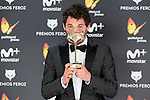 Paco Leon win the award at Feroz Awards 2017 in Madrid, Spain. January 23, 2017. (ALTERPHOTOS/BorjaB.Hojas)