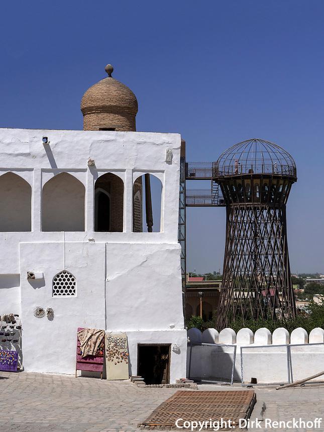 in der Festung Ark in Buchara, Usbekistan, Asien, UNESCO-Weltkulturerbe<br /> in the fortress, Historic City of Bukhara, Uzbekistan, Asia, UNESCO Heritage Site