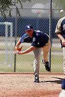 Ryan Hinson - San Diego Padres 2009 Instructional League.Photo by:  Bill Mitchell/Four Seam Images..