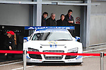 Real Madrid Team participates and recives new Audi during the presentation of Real Madrid's new cars made by Audi at the Jarama racetrack on November 8, 2012 in Madrid, Spain.(ALTERPHOTOS/Harry S. Stamper)