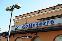 Colleferro.Stazione Ferroviaria.