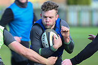 16th February 2021;  Ian Madigan during an Ulster Rugby squad pitch session held at Pirrie Park, Belfast, Northern Ireland. Photo by John Dickson/Dicksondigital