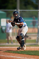 Jean Carlos Medina (14) during the WWBA World Championship at Lee County Player Development Complex on October 9, 2020 in Fort Myers, Florida.  Jean Carlos Medina, a resident of Orlando, Florida who attends Central Pointe Christian High School.  (Mike Janes/Four Seam Images)
