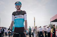 Romain Bardet (FRA/AG2R-La Mondiale) at sign-on / pre-race<br /> <br /> Stage 1: Noirmoutier-en-l'Île > Fontenay-le-Comte (189km)<br /> <br /> Le Grand Départ 2018<br /> 105th Tour de France 2018<br /> ©kramon