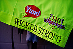 April 30, 2014: The saddle cloth for Wicked Strong, trained by Jimmy Jerkens, waits for the colt to be exercised in preparation for the Kentucky Derby at Churchill Downs in Louisville, KY Scott Serio/ESW/CSM