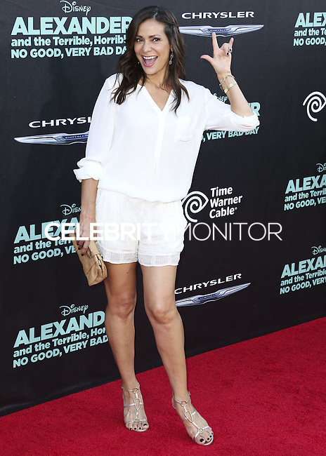 HOLLYWOOD, LOS ANGELES, CA, USA - OCTOBER 06: Constance Marie arrives at the World Premiere Of Disney's 'Alexander And The Terrible, Horrible, No Good, Very Bad Day' held at the El Capitan Theatre on October 6, 2014 in Hollywood, Los Angeles, California, United States. (Photo by Xavier Collin/Celebrity Monitor)