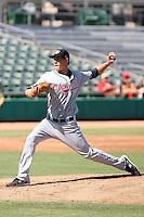 Scott Barnes - Peoria Javelinas - 2010 Arizona Fall League.Photo by:  Bill Mitchell/Four Seam Images..