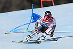 FIS Alpine World Ski Championships 2021 Cortina . Cortina d'Ampezzo, Italy on February 19, 2021. men's Giant Slalom, Mathieu Faivre (FRA)