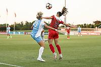 Boyds, MD - Saturday June 03, 2017:  Rachel Daly, Arielle Ship during a regular season National Women's Soccer League (NWSL) match between the Washington Spirit and the Houston Dash at Maureen Hendricks Field, Maryland SoccerPlex