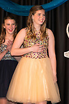 March 25, 2017- Tuscola, IL- Maicyn Woodard reacts after being named 2017 Junior Miss during the Miss Tuscola pageant. [Photo: Douglas Cottle]