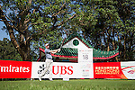 Steven Tiley of England tees off the 18th hole during the Pro-Am golf tournament of the 58th UBS Hong Kong Open as part of the European Tour on 07 December 2016, at the Hong Kong Golf Club, Fanling, Hong Kong, China. Photo by Vivek Prakash / Power Sport Images