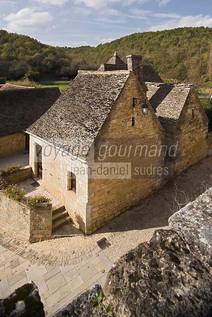 Europe/France/Aquitaine/24/Dordogne/Périgord Noir/Saint-Amand-de-Coly: les maisons du village