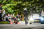 Nicholas Dlamini (RSA) Team Qhubeka-NextHash in action during Stage 5 of the 2021 Tour de France, an individual time trial running 27.2km from Change to Laval, France. 30th June 2021.  <br /> Picture: A.S.O./Charly Lopez | Cyclefile<br /> <br /> All photos usage must carry mandatory copyright credit (© Cyclefile | A.S.O./Charly Lopez)