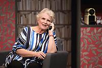 Marie-Christine BARRAULT - Filage de la piece 'CONFIDENCES' de Jody Pietro - 28 aout 2017 - Theatre Rive Gauche, Paris, France