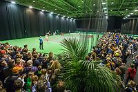 ABNAMRO World Tennis Tournament, 14 Februari, 2018, Rotterdam, The Netherlands, Ahoy, Tennis, Training Roger Federer<br /> <br /> Photo: www.tennisimages.com