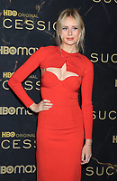 """October 12, 2021. Justine Lupe attend HBO's """"Succession"""" Season 3 Premiere at the  American Museum of Natural History in New York October 12, 2021 Credit: RW/MediaPunch"""