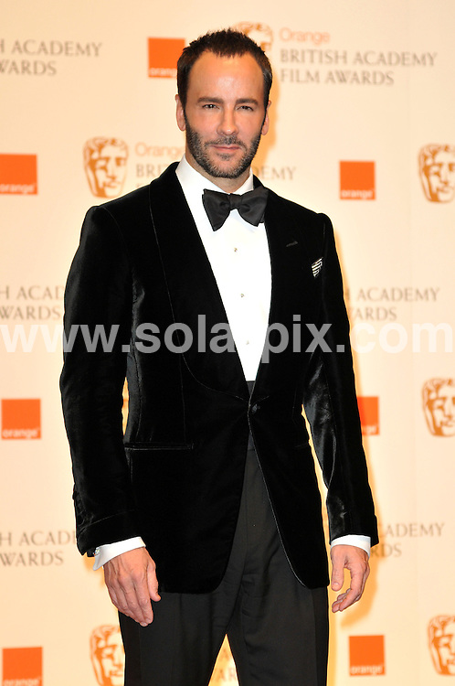 **ALL ROUND PICTURES FROM SOLARPIX.COM**                                             **WORLDWIDE SYNDICATION RIGHTS**                                                                                  Arrivals to the Orange British Academy Film Awards held at The Royal Opera House, London, UK. February 13, 2011                                                                            .This pic:   Tom Ford                                                                                JOB REF:    12796    MSR       DATE:    13.02.11                                                        **MUST CREDIT SOLARPIX.COM OR DOUBLE FEE WILL BE CHARGED**                                                                      **MUST AGREE FEE BEFORE ONLINE USAGE**                               **CALL US ON: +34 952 811 768 or LOW RATE FROM UK 0844 617 7637**