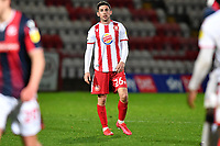 Dejected Tom Pett of Stevenage FC at the final whistle during Stevenage vs Bolton Wanderers, Sky Bet EFL League 2 Football at the Lamex Stadium on 21st November 2020
