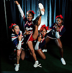 Cheerleaders from over 20 countries compete at the World Cheerleading Championships at Disney's Wide World of Sports. Each team from around the world gets 3 and 1/2 minutes to show their stuff. Teams came from all of the US, Canada, China, Chile, Columbia, Germany, Scotland, England, France, Mexico a many others