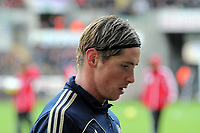 Saturday, 03 November 2012<br /> Pictured: Fernando Torres of Swansea<br /> Re: Barclays Premier League, Swansea City FC v Chelsea at the Liberty Stadium, south Wales.