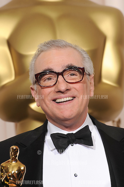 Martin Scorsese at the 80th Annual Academy Awards at the Kodak Theatre, Hollywood, CA..February 24, 2008 Los Angeles, CA.Picture: Paul Smith / Featureflash