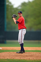 Atlanta Braves Matt Custred (87) during an intrasquad Spring Training game on March 29, 2016 at ESPN Wide World of Sports Complex in Orlando, Florida.  (Mike Janes/Four Seam Images)