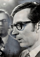 Robert Bourassa was hailed as a savior of Quebec when he took over a premier a year and a half ago.<br /> <br /> 1970<br /> <br /> PHOTO :  Frank Lennon - Toronto Star Archives - AQP