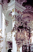 Rococo Architecture. The image is an example of the style of architecture featured in this gallery.