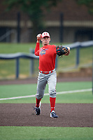 Tanner Witt (10) during the Under Armour All-America Game Practice, powered by Baseball Factory, on July 21, 2019 at Les Miller Field in Chicago, Illinois.  Tanner Witt attends Episopal High School in Houston, Texas and is committed to the University of Texas.  (Mike Janes/Four Seam Images)