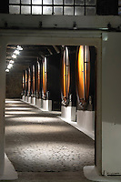wooden vats sandeman port lodge vila nova de gaia porto portugal