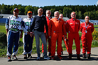 5th September 2021; Red Bull Ring, Spielberg, Austria; DTM Race 2 at Spielberg;  Gerhard Berger ITR with marshals