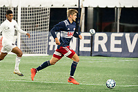 FOXBOROUGH, MA - OCTOBER 09: nn12; during a game between Fort Lauderdale CF and New England Revolution II at Gillette Stadium on October 09, 2020 in Foxborough, Massachusetts.