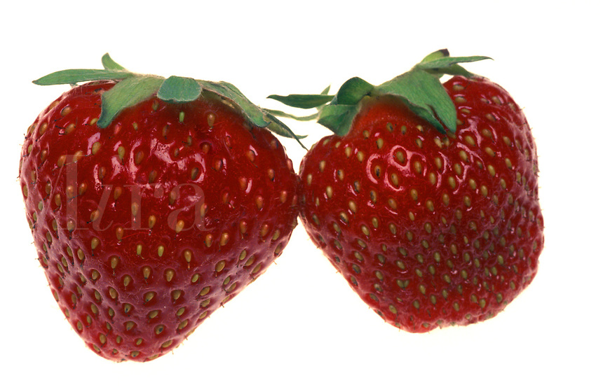 Two Strawberries.