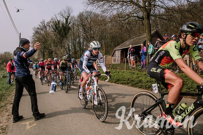 Ellen Van Dijk (NED/Trek-Segafredo)<br /> <br /> 8th Gent-Wevelgem In Flanders Fields 2019 <br /> Elite Womens Race (1.WWT)<br /> <br /> One day race from Ypres (Ieper) to Wevelgem (137km)<br /> ©JojoHarper for Kramon