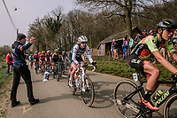 Ellen Van Dijk (NED/Trek-Segafredo)<br /> <br /> 8th Gent-Wevelgem In Flanders Fields 2019 <br /> Elite Womens Race (1.WWT)<br /> <br /> One day race from Ypres (Ieper) to Wevelgem (137km)<br /> ©JojoHarper for Kramon
