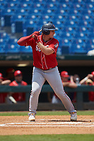 Vito Valincius (60) of Baylor School in Lockport, IL playing for the Cincinnati Reds scout team during the East Coast Pro Showcase at the Hoover Met Complex on August 5, 2020 in Hoover, AL. (Brian Westerholt/Four Seam Images)